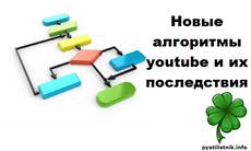 Новые алгоритмы youtube и их последствия